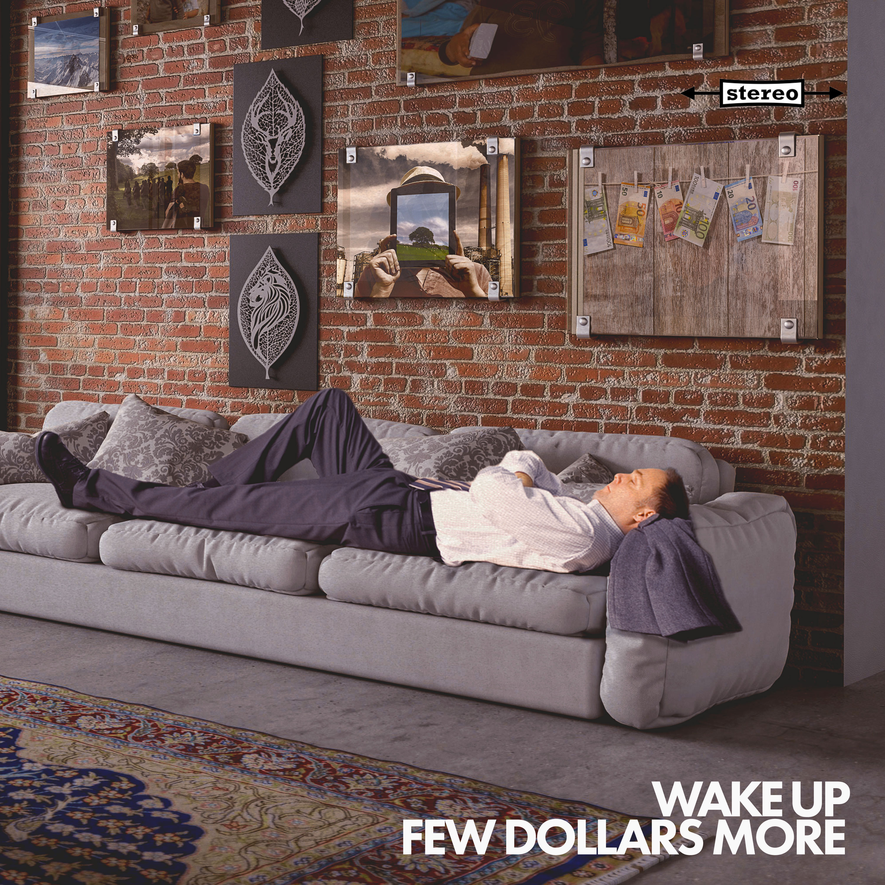 Few Dollars More - Wake Up Album Cover Art - Web